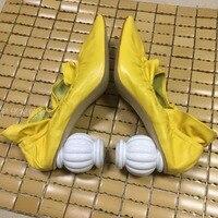 Брендовые шикарные женские туфли лодочки; женская кожаная обувь с квадратным носком; плиссированная обувь с оборками; zapatos mujer; модельные ту