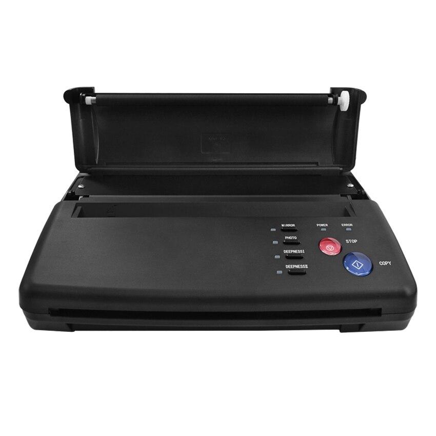 Do transferu tatuażu kopiarka maszyna termiczna LED cyfrowy drukarka szablonowa maszyna do rysowania Body Art z transferu papieru makijaż dostaw