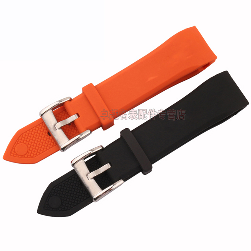 new type of silicone tape to replace the 23mm ar5987 rubber watches with white, black, orange, high quality watchband new useful waterproof silicone performance repair tape bonding rescue wire sealing tape