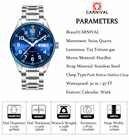 Carnaval trítio t25 luminoso duplo calendário militar suíça relógio de quartzo masculino marca luxo relógios à prova dwaterproof água 2017 - 5