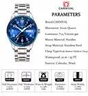 Carnival tritium T25 luminous Double calendar military Switzerland Quartz watch men luxury brand watches waterproof clock 2017 - 5