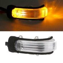 Автомобильный левый-кабина/правый-копилот заднего вида, сигнальный светильник поворота для TOYOTA COROLLA AURIS ZELAS eiz MARK X, желтая автомобильная лампа