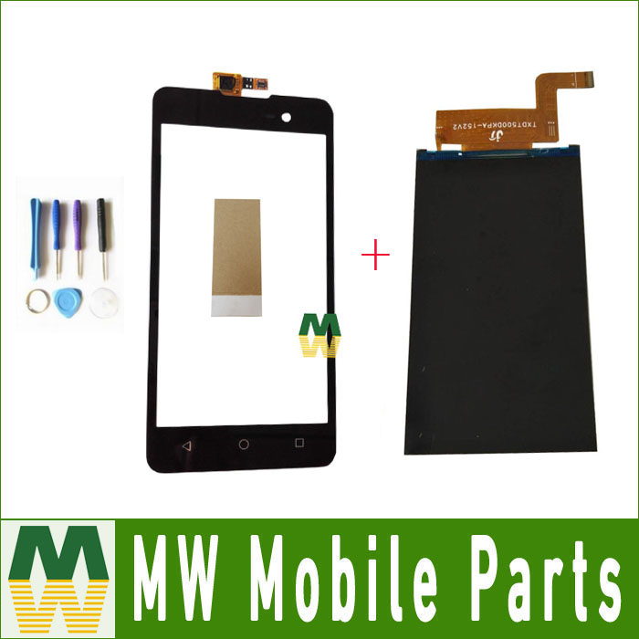 For Wiko Lenny 2 LCD Seperate Touch Screen Digitizer And Lcd Display For Micromax Spark 2 Q334 Black Color with tools+TapeFor Wiko Lenny 2 LCD Seperate Touch Screen Digitizer And Lcd Display For Micromax Spark 2 Q334 Black Color with tools+Tape