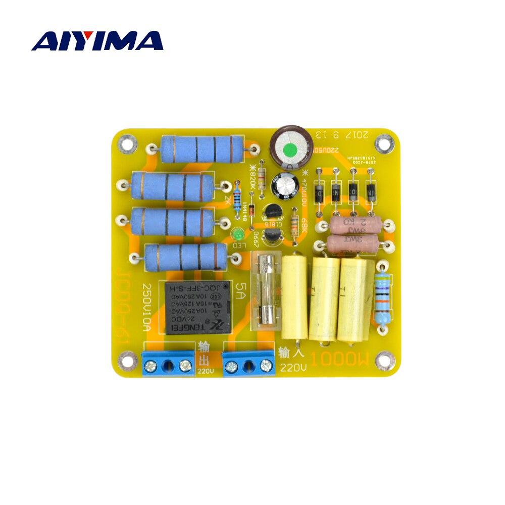 AIYIMA מגבר כוח עיכוב רך להתחיל הגנת לוח עבור 220 V 1000 W שנאי אודיו מגבר AMP DIY