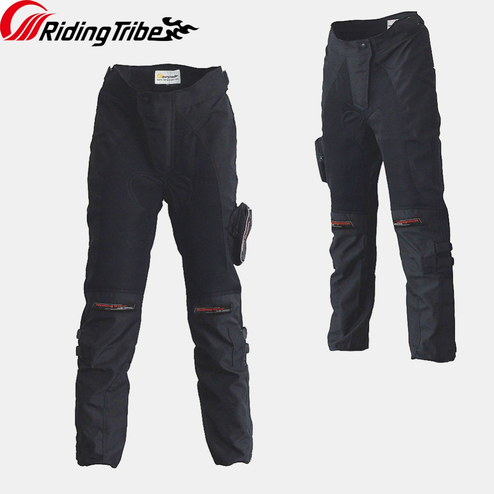 Riding Tribe Motorcycle Riding Protection Pants Motorcross Anticollision Breathable Wearable Spring Summer With Kneepad HP-02