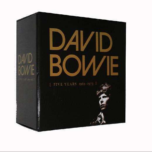 Дэвид Боуи пять Years1969-1973 12CD Китай Factroy новые Запечатанные