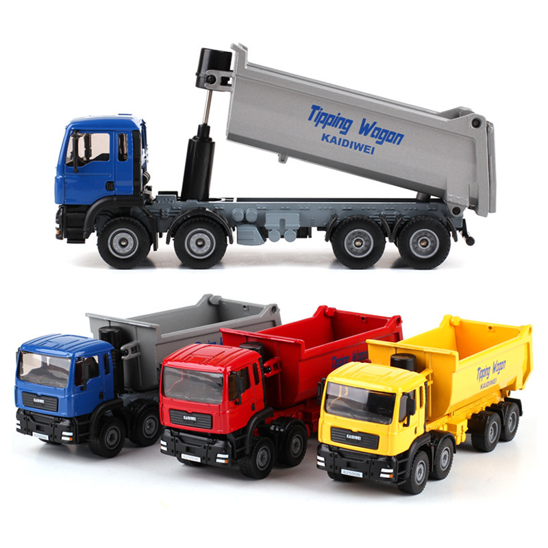 ZXZ 1:50 Kids Toys Shop Forklift Truck Skip Car Metal Toy Cars Model For Children Diecasts Classic Car Miniatures Gift