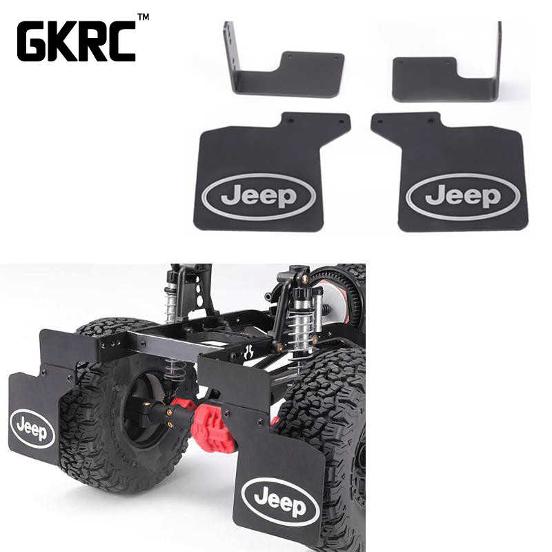 Hoge Kwaliteit Rubber Achterspatbord Voor Axiale Scx10 I II 90046 KM2 Cross SG4 Traxxas Trx-4 Rc Crawler Auto