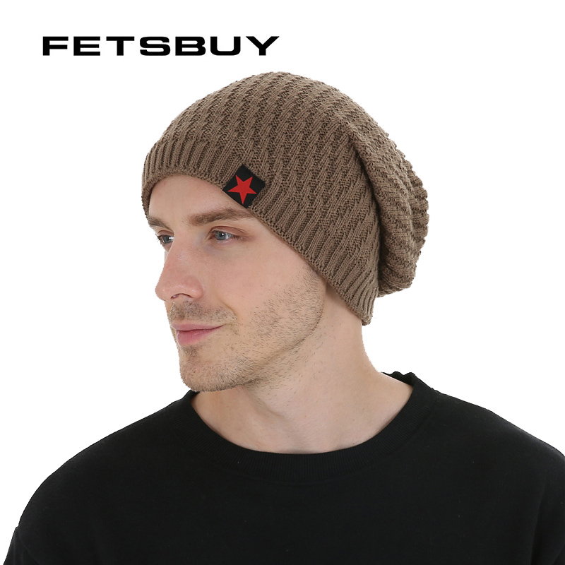 FETSBUY Winter Hats Skullies Beanies Hat Winter Beanies For Men Women Wool Scarf Caps Balaclava Mask Gorras Bonnet Knitted#19007 skullies