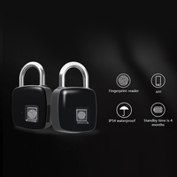 Hot Sale Smart Fingerprint Padlock Bluetooth Keyless Anti Theft Fingerprint Lock for Suitcase Locker TY