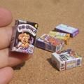 3pcs/set Dollhouse Corn Flakes Box 1:12 Miniature Breakfast Cereal Corn Flakes Kitchen Accessory Home Decor