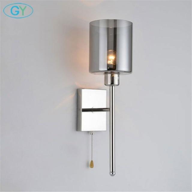 Moderne Wandleuchte Lichter Ledlampe Innen Beleuchtung Wand Montieren Nacht  Lampe Mit Pull Kette Schalter With Wand Innen Kaufen