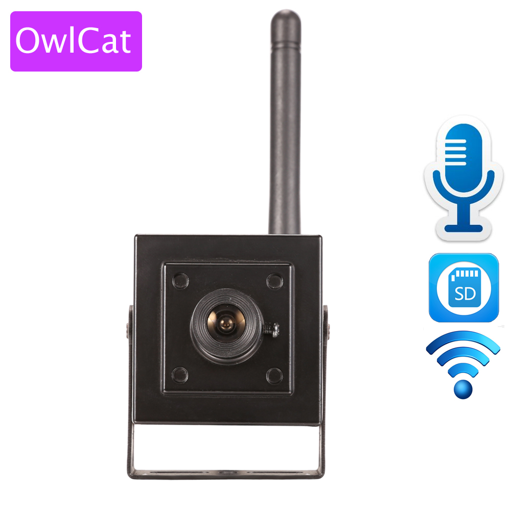OwlCat HI3518E SONY323 Wireless CCTV Mini IP Camera Wifi