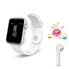 Умные часы + наушники DM09 Смарт-часы es для мужчин PK IWO6 IWO 8 relogio inteligente поддержка слота для sim-карты для apple iPhone watch 2