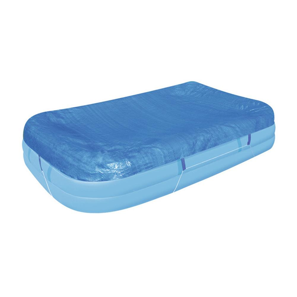 Couverture de piscine ronde bleue Roller Fit 8/10/12 pieds de diamètre piscines de jardin familiales accessoires de piscine et de Sports nautiques