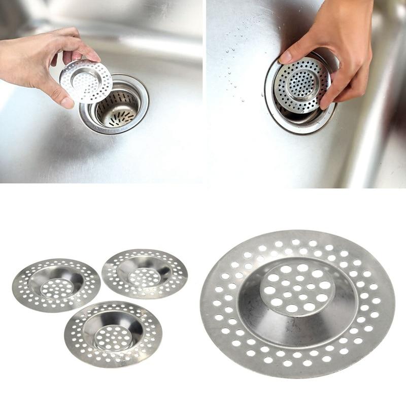 3pcs stainless steel kitchen sink basin strainer hair trap bath plug hole waste filter strainer steel. beautiful ideas. Home Design Ideas