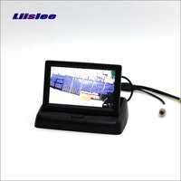 Liislee For Acura MDX / TSX / RL / TL / Foldable Car HD TFT LCD Monitor Screen Display / 4.3 inch / NTSC PAL Color TV System