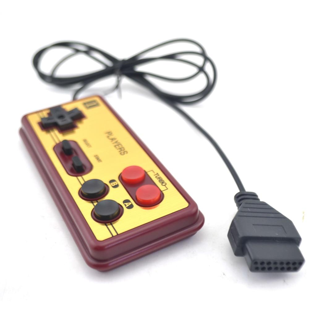 Para 15Pin 8-bit console estilo Japonês Plugue Controlador Cabo Para N-E-S Para F-C