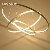 Modern LED Chandelier Acrylic Lights Lamp For Dinning Room Living Room Lampadario Moderno Lustre Chandelier Lighting