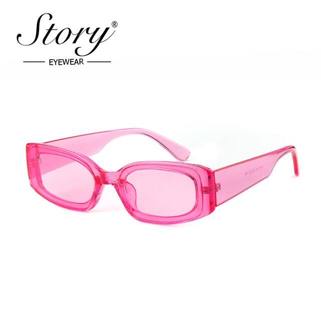 Story 2018 Fashion Small Square Sunglasses Women Man Vintage Retro