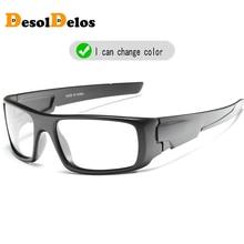 Photochromic Polarized Sunglasses Men Car Driving Goggles Sun Glasses Eyeglasses Lunettes De Soleil Pour Hommes Shades