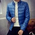 2016 Slim Parkas COATS fashion WINTER JACKET MEN MENS Warm Stand collar Casual Thicken jackets Cotton Male Parkas COAT MQ515