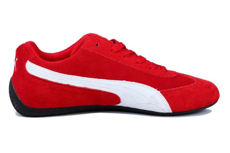371775eb7 Frete grátis chegam Novas homens Puma por Rihanna Trepadeiras Camurça  sapatos Respirável Sapatos Badminton Tênis tamanho 40 44 em Badminton Shoes  de Sports ...