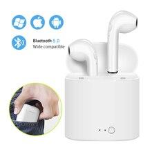 Mini Wireless Earbuds i7s Tws Bluetooth Stereo Earphones Handsfree Headset for iPhone Samsung huawei xiaomi Smart Phone i12 i11