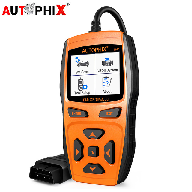 US $69 0 20% OFF|Autophix For BMW Mini OBD2 Scanner Auto Car Oil Service  Reset EPB SAS Gearbox TPS Diagnostic Tool OBD 2 Automotive Scanner 7810-in