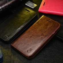 Здесь можно купить  Luxury New Genuine Real Leather Card Holder Flip Wallet Case Cover For iPhone 5s & SE & 6s & 6s plus Leather Stand Case Cover
