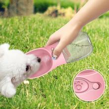 Pet Accompanying Cup Drinker Outdoor Travel Bottle Portable Dog Drinking Water Leakproof And Durable