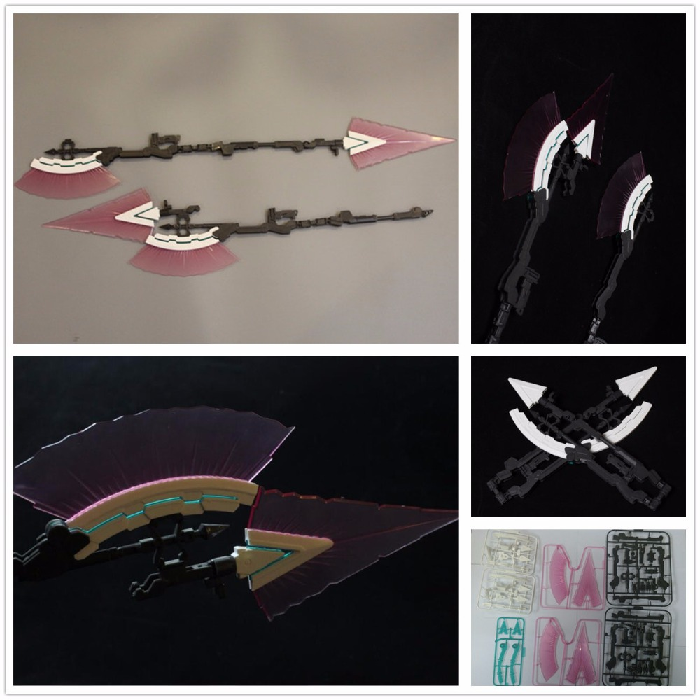 effectswings hyper feixe dardo para bandai 1 60 pg rx 0 completa armadura unicorn gundam