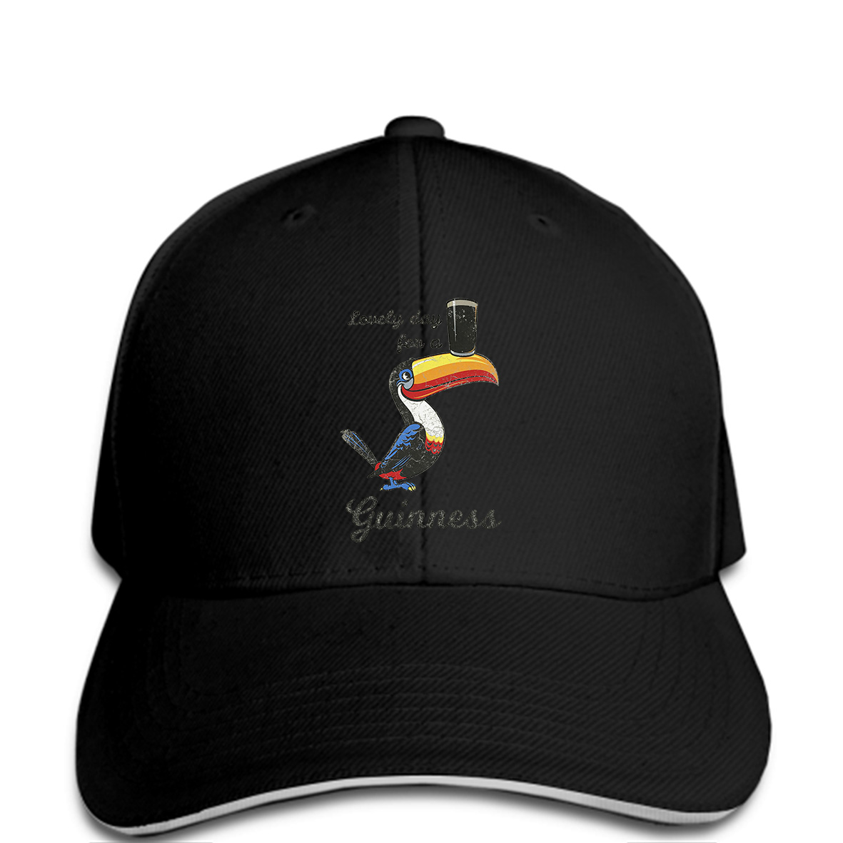 078571071 US $9.9 |Men Baseball cap Lovely Day Guinness funny Hat novelty tsnapback  women-in Men's Baseball Caps from Apparel Accessories on Aliexpress.com |  ...