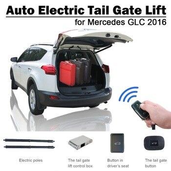 Smart Auto ไฟฟ้า Tail Gate Lift สำหรับ Mercedes Benz GLC 2016 รีโมทคอนโทรลไดรฟ์ที่นั่งปุ่มชุดควบคุมความสูงหลีกเลี่ยง pinch
