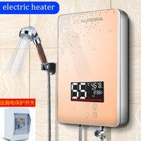 Дистанционный 6 см мини электрический водонагреватель настенное крепление Душ быстрый нагрев машина для воды постоянная температура инстр
