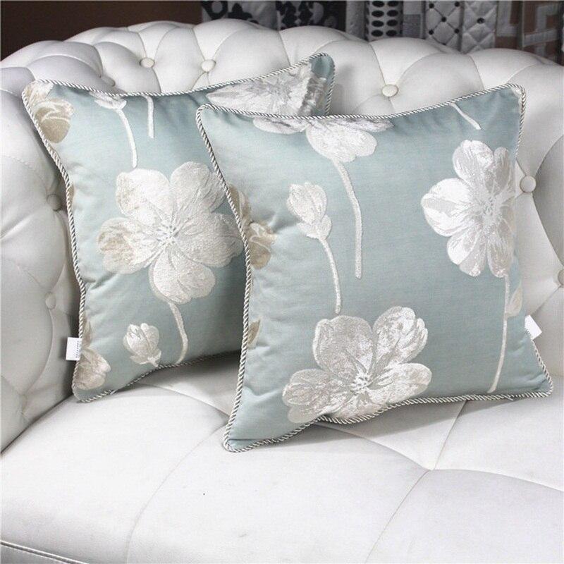 Home Decor Vintage Géométrique Fleur Coton Lin Throw Taie d/'oreiller Housse de coussin
