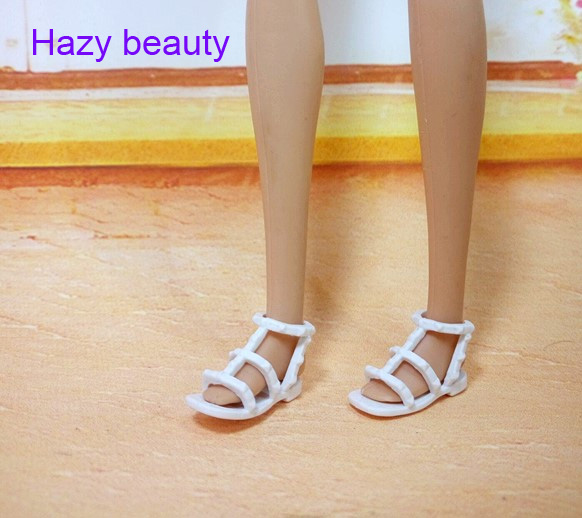 Hazy beauty  different styles for choose  Casual High heels doll shoes for Barbie 1:6 Doll Fashion Cute Newest BBI00171 hazy beauty handsome new perfect policeman set suits clothes trousers for barbie 1 6 boyfriend ken doll bbi00921