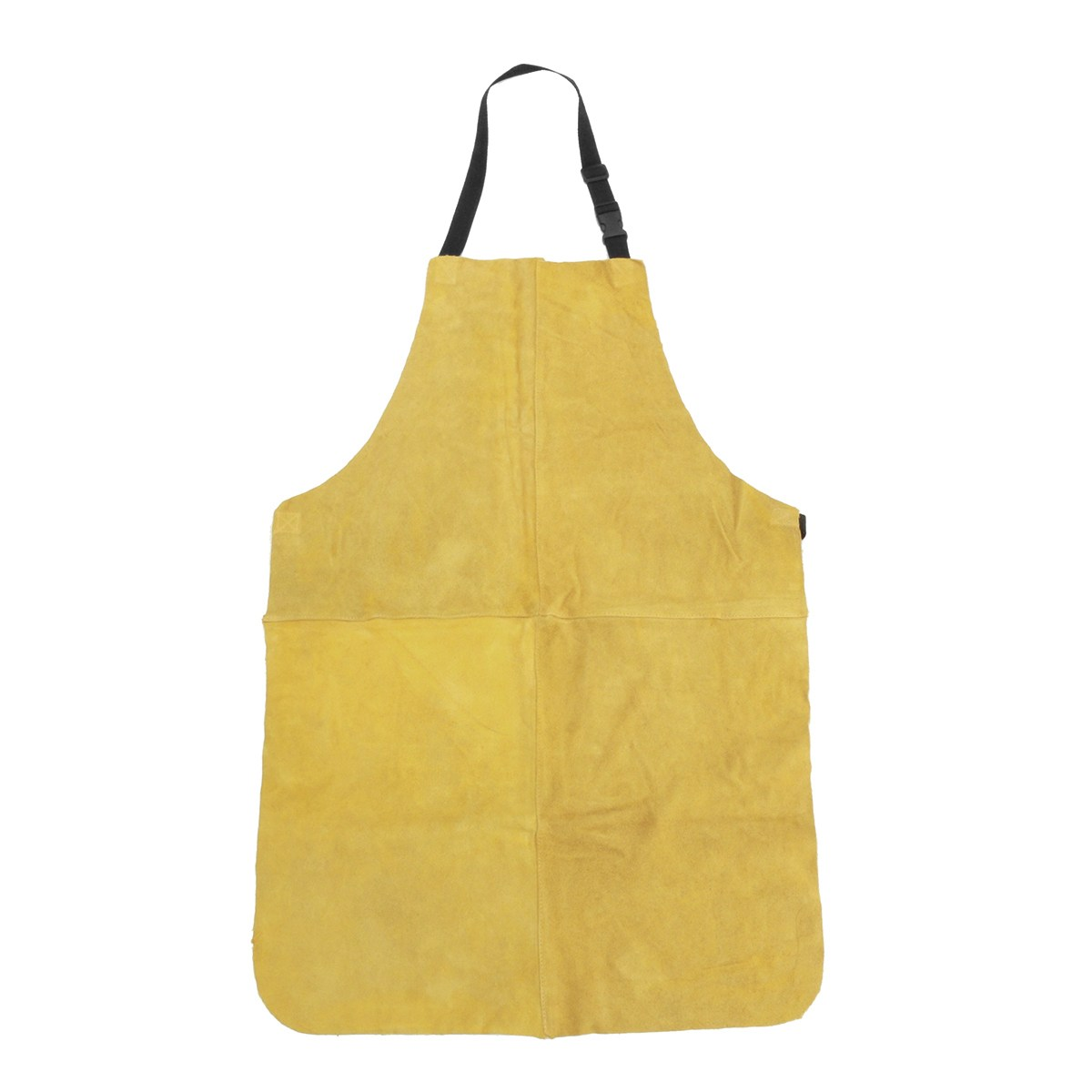Safurance Welders Dual Leather Welding Cutting Bib Shop Apron Heat Resistant Workplace Safety Safety Clothing Self Protect