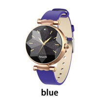 B80 Smart Bracelet Women Leather Strap Fitness Tracker Band Fashion Watches Heart Rate Monitor Blood Pressure IP67