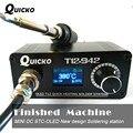 MINI OLED T12 estação de solda ferro de solda eletrônica 2019 Novo design DC Versão Portátil T12 Digital Ferro T12-942 QUICKO