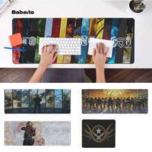 Babaite Your Own Mats CS GO Durable Rubber Mouse Mat Pad Free Shipping Large Keyboards