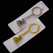 2pcs/set Teeth Keychain Dentist Decoration Key Chains Stainless Steel Tooth Model Shape Dental Clinic Small Gift 10pcs dental clinic gift deciduous teeth bag primary teeth case the tooth fairy bag