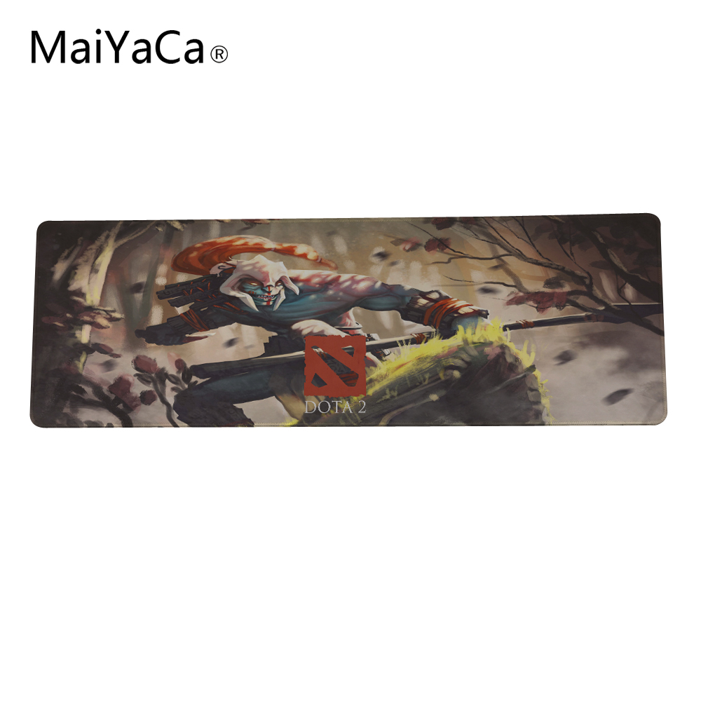 Dota 2 Gaming High Speed Custom Mouse Pad Design New Rubber Lock Edge Mouse Pad PC Laptop Computer Mice Play Mat