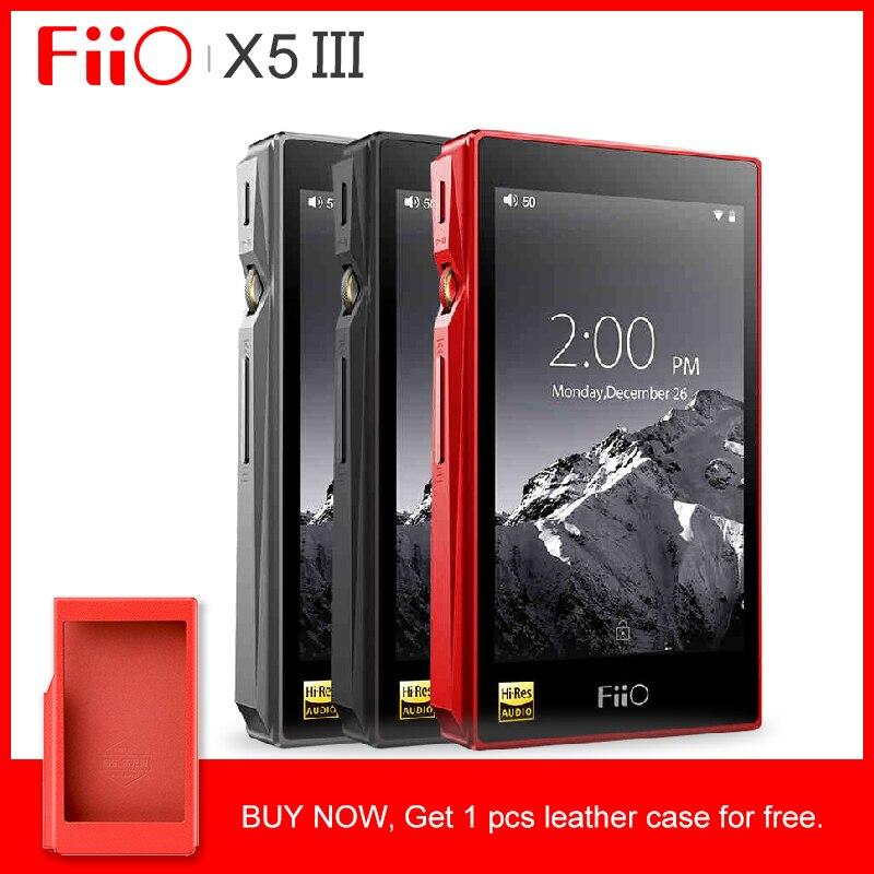 FIIO X5III X5 3nd Gen Android basé WIFI Bluetooth APTX Double AK4490 lecteur de musique Portable sans perte avec stockage intégré 32G