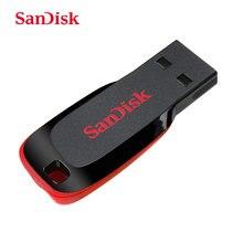 SanDisk Mini clé USB SDCZ50, 128 go, 64 go, 32 go, 16 go, 8 go, clé USB 2.0, stylo, mémoire