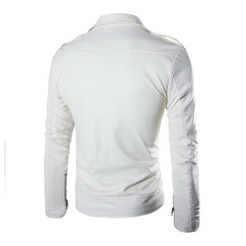 HTB1KCSuavfsK1RjSszbq6AqBXXaX HEFLASHOR  Autumn Men Fashion Motorcycle Leather Jacket slim fit Coats Male Casaco Masculino Casual Zipper Black jacket
