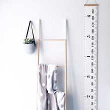Children Kids Decorative Growth Charts Home Baby Height Waterproof Ruler Nordic Style Wall Hanging Photography Props