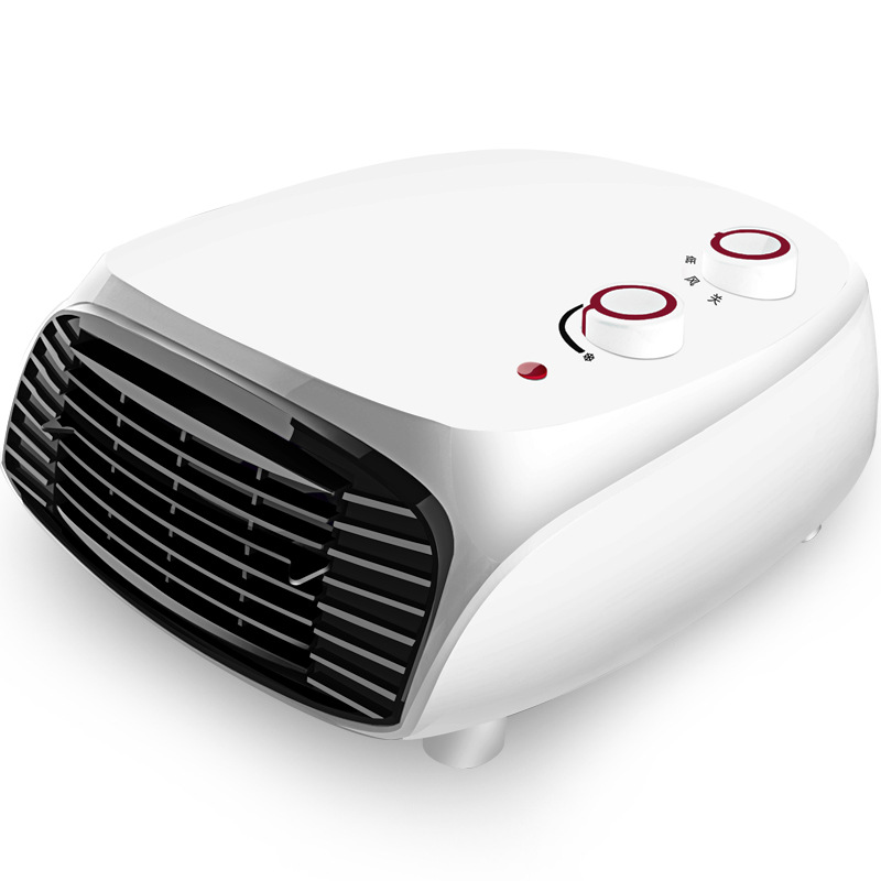 DMWD Wall mounted & Desktop Multifunctional Household Electric Heater Waterproof Hot Air Blower Heating And Cooling Fan 220V