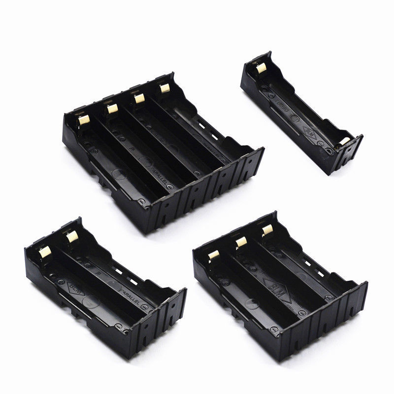 18650 Parallel Battery Box Plastic Battery Box Holder Rechargeable Battery 3.7V DIY Soldered On The PCB