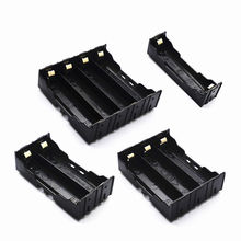 18650 Parallel Battery Box Plastic Holder Rechargeable 3.7V DIY Soldered on The PCB